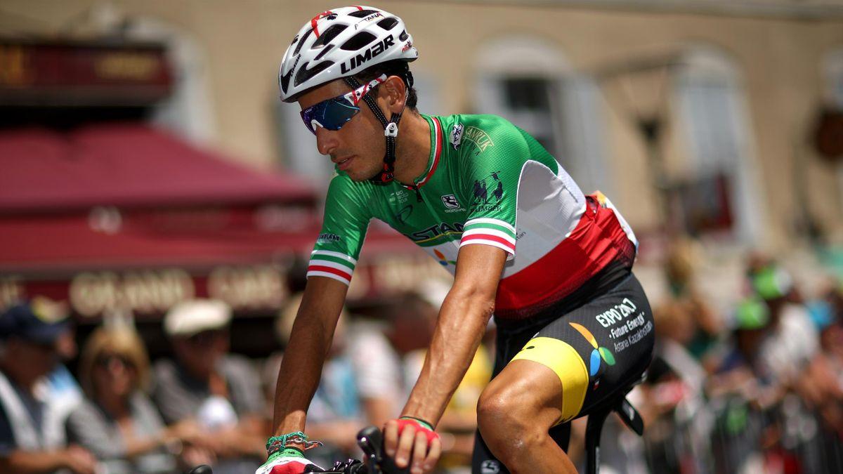 Fabio Aru (Astana) sur le Tour de France 2017