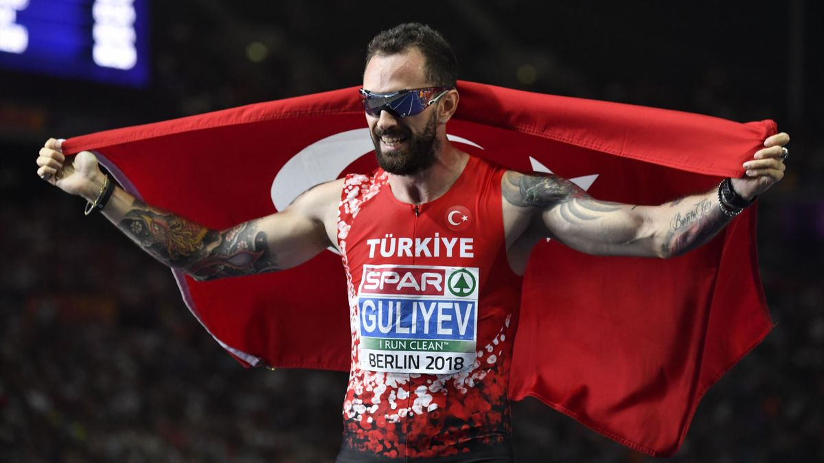 Ramil Guliyev sacré sur 200m - Championnats d'Europe 2018