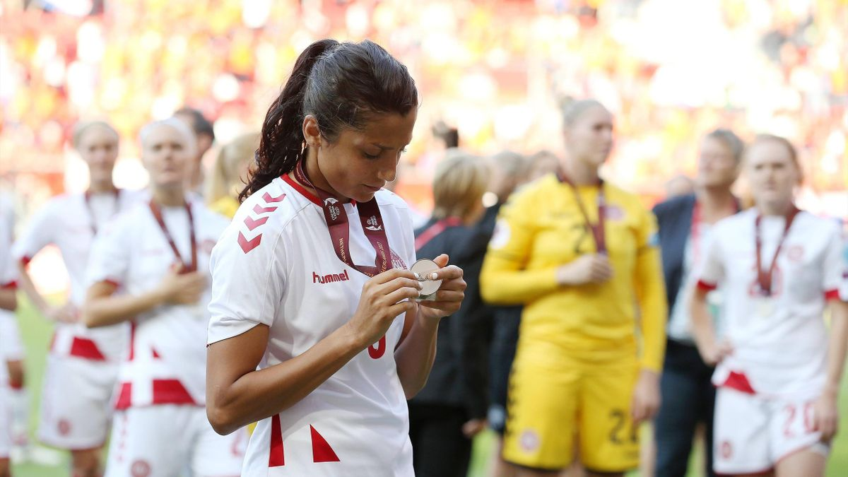 Nadia Nadim, napastniczka reprezentacji Danii