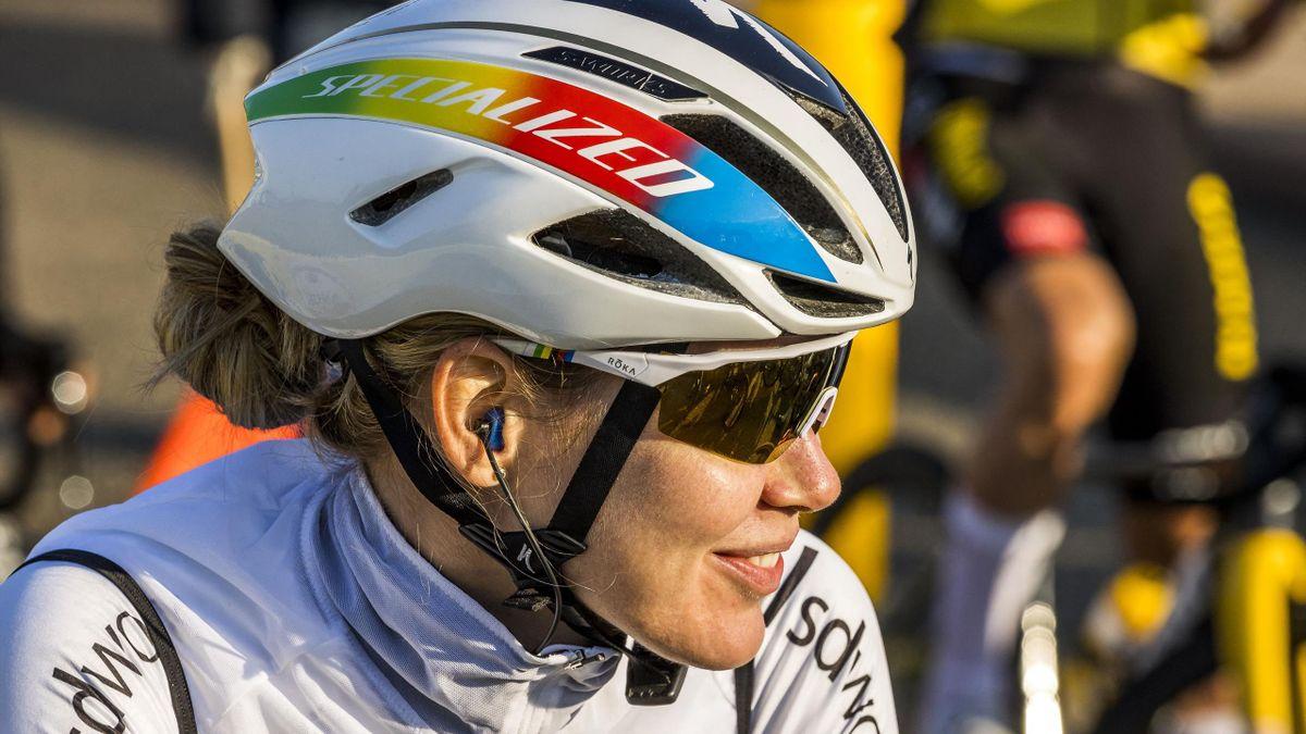 World and Olympic champion, Anna van der Breggen