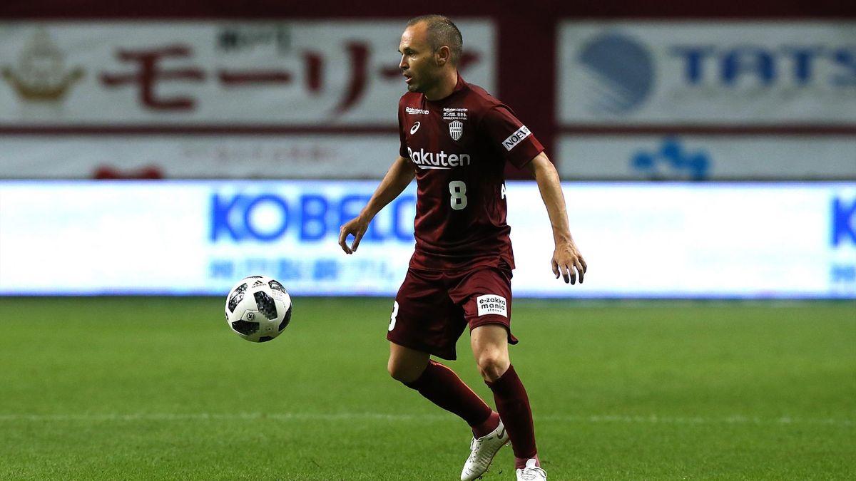 Andres Iniesta wird neuer Kapitän bei Vissel Kobe