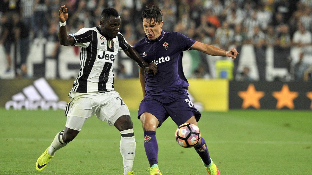 Kwadwo Asamoah Federico Chiesa Juventus Fiorentina 2016