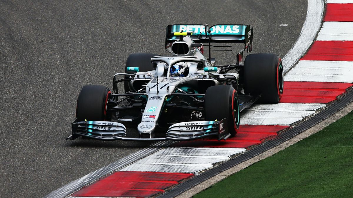 Valtteri Bottas (Mercedes) au Grand Prix de Chine 2019