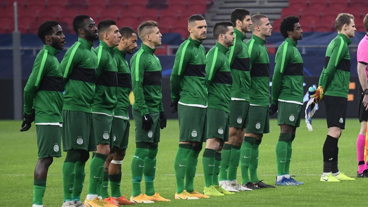 A Ferencváros csapata