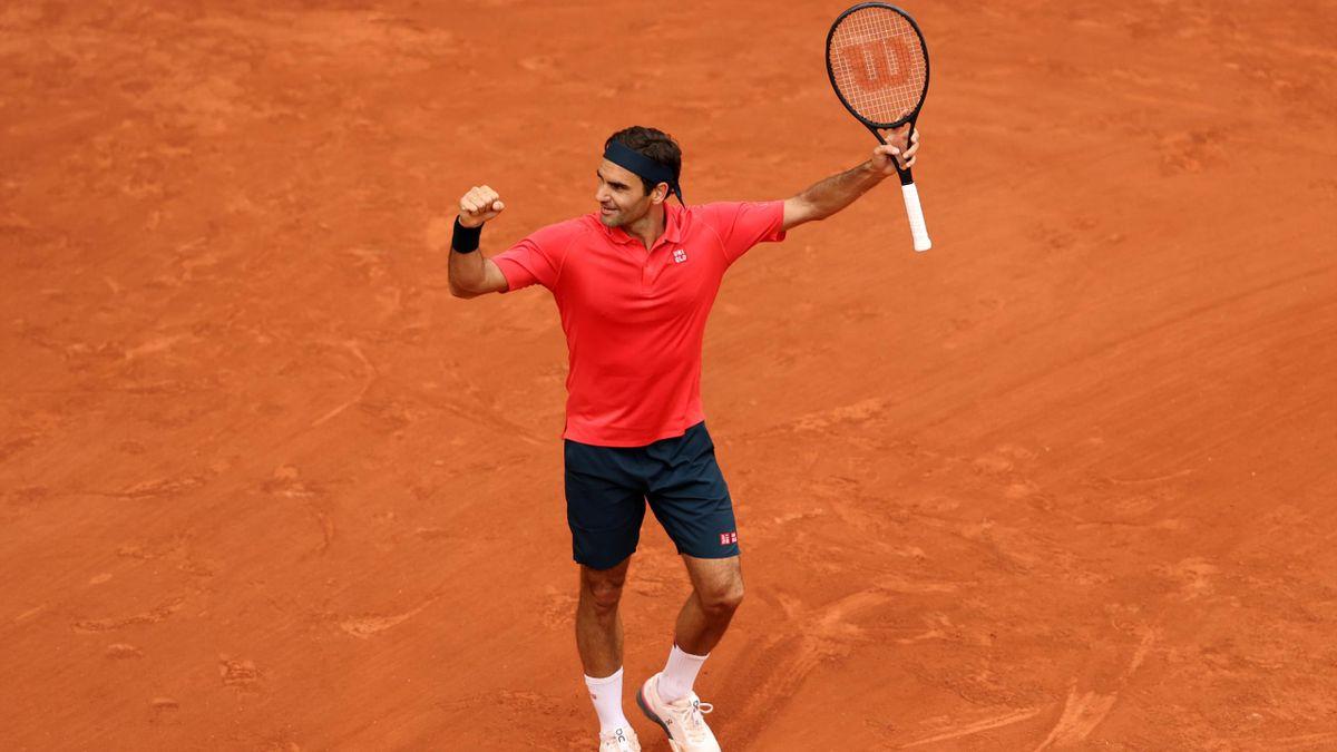 Roger Federer steht in der dritten Runde der French Open