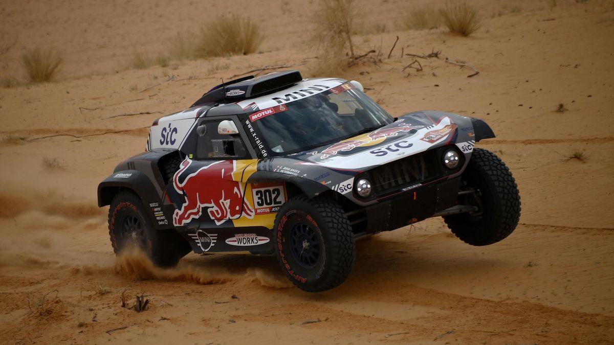 Stéphane Peterhansel bei der Rallye Dakar 2021