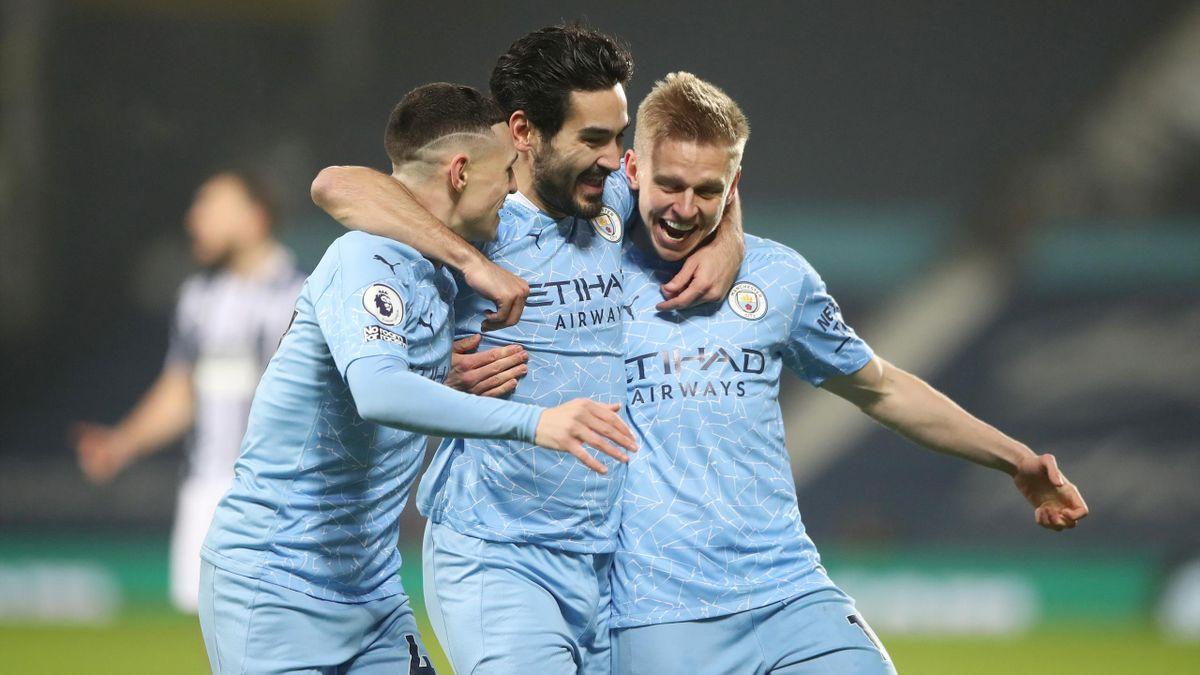Man City are 14 games from historic quadruple – why not dream big like  Oleksandr Zinchenko? - Eurosport