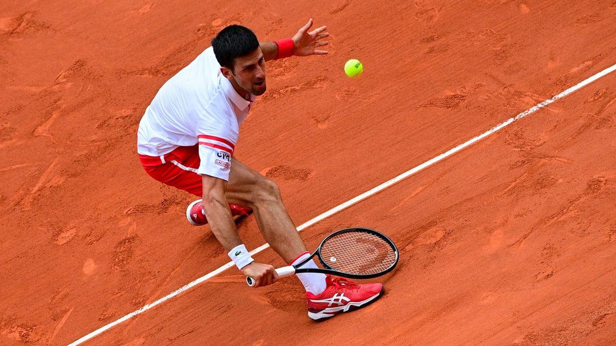 Novak Djokovic bei den French Open