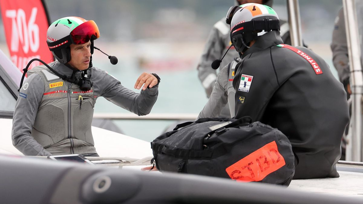 Francesco Bruni e James Spithill