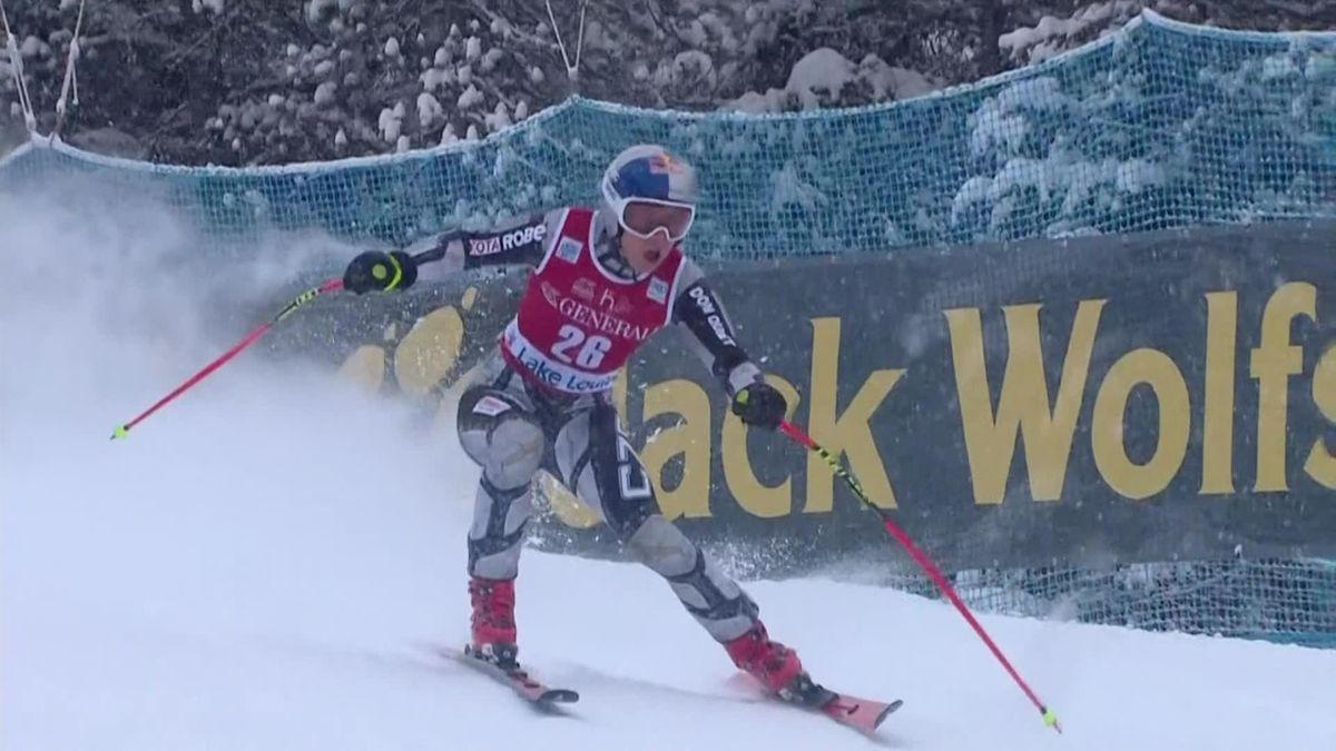 Alpins Skiing :  WCUP Lake Louise DH Women - Ledecka