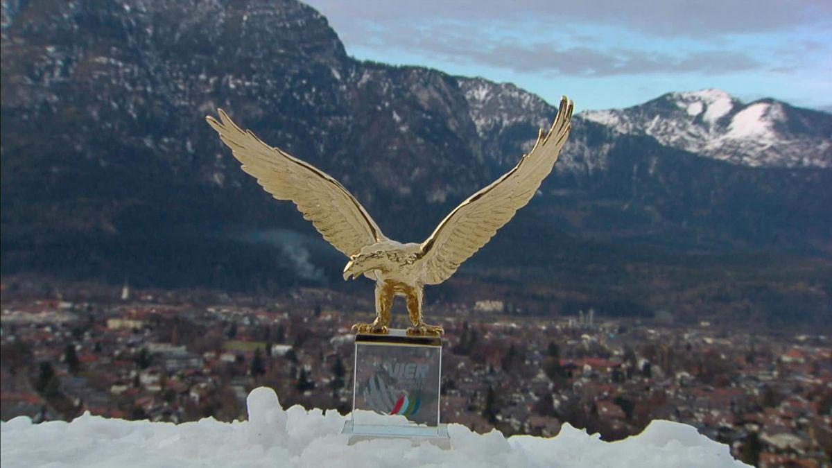 """""""Vulturul de Aur"""", trofeul pentru care se luptă Stoch, Kubacki și Granerud"""