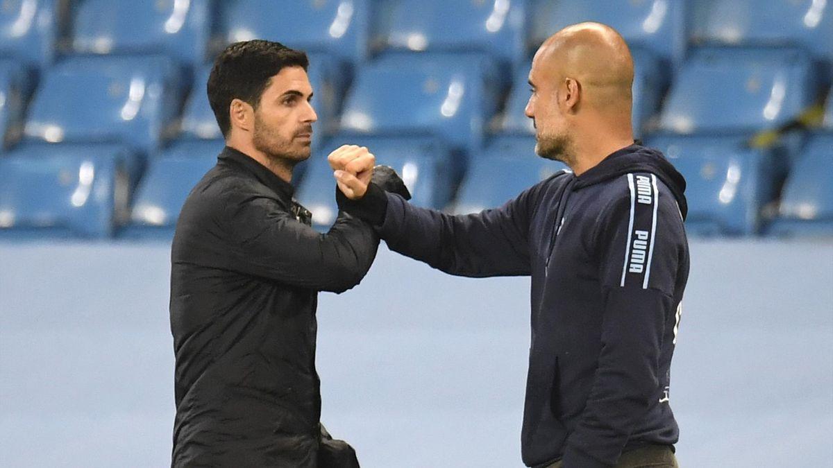 Mikel Arteta și Pep Guardiola sunt prieteni de peste 20 de ani