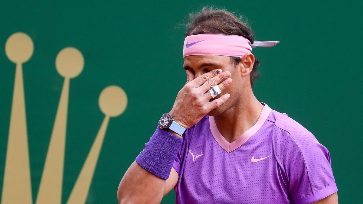 Rafael Nadal beim Masters von Monte Carlo