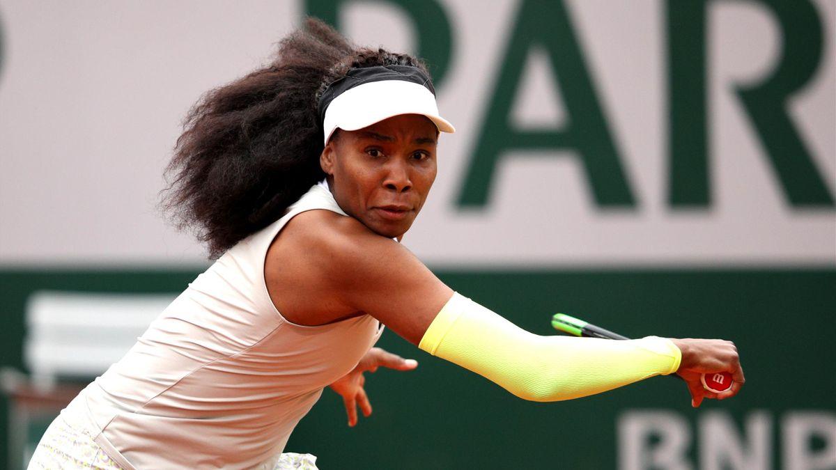 Venus Williams lors de Roland-Garros 2019