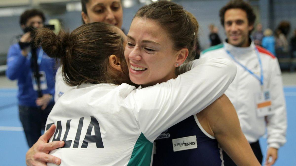 Camila Giorgi - Italia vs Estonia - Fed Cup 2020 - Getty Images