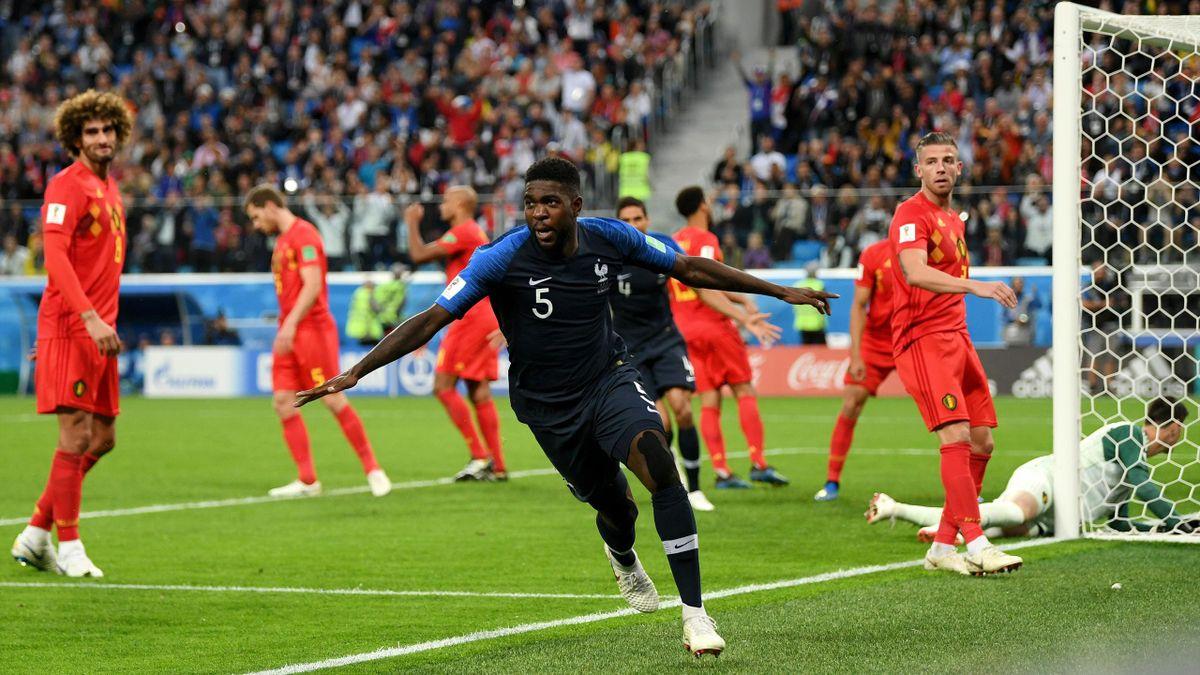 Samuel Umtiti (Frankreich vs. Belgien)