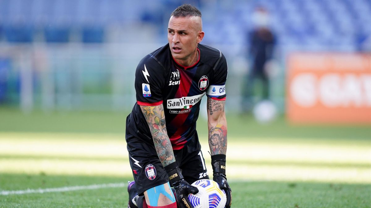 Alex Cordaz, Crotone 2020-2021 (Getty Images)
