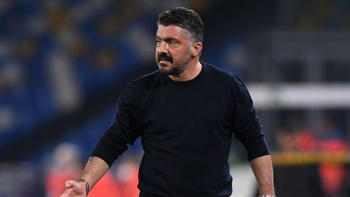 Gennaro Gattuso - Napoli-Granada - Europa League 2020-2021