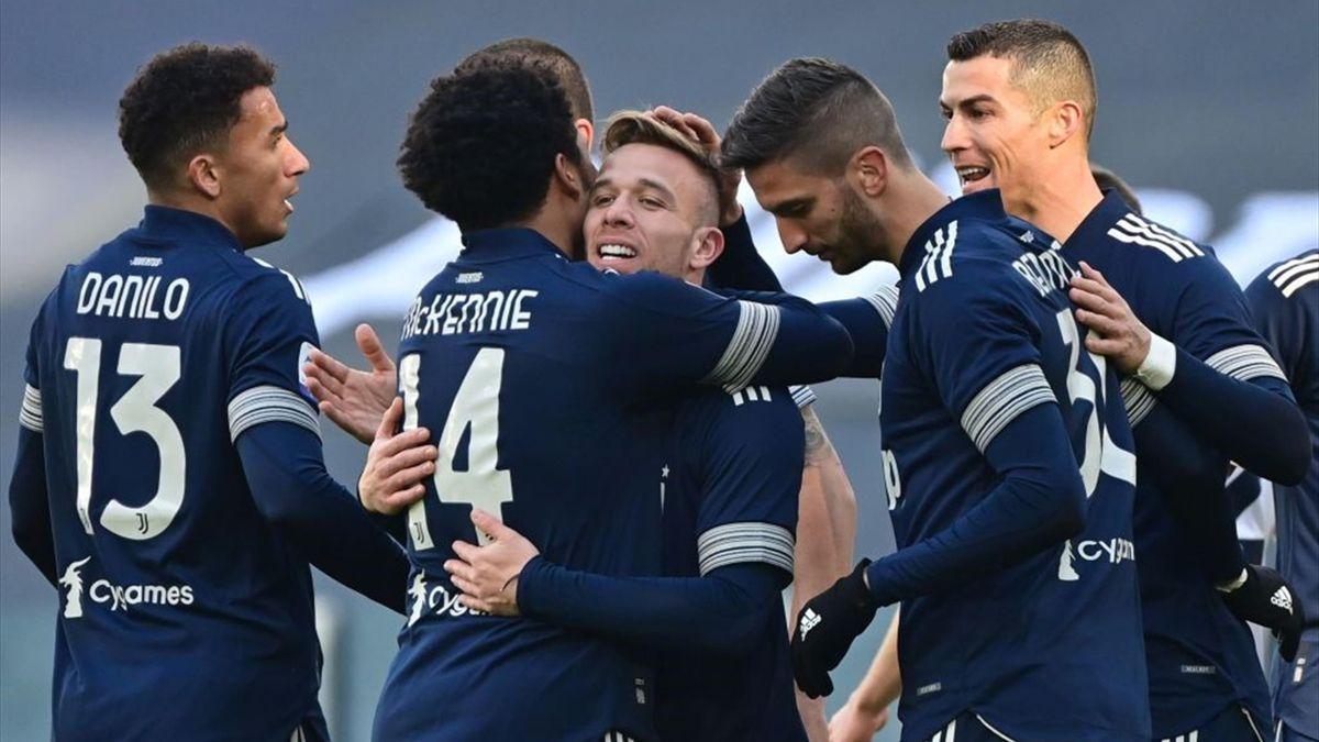 Arthur - Juventus-Bologna - Serie A 2020-2021