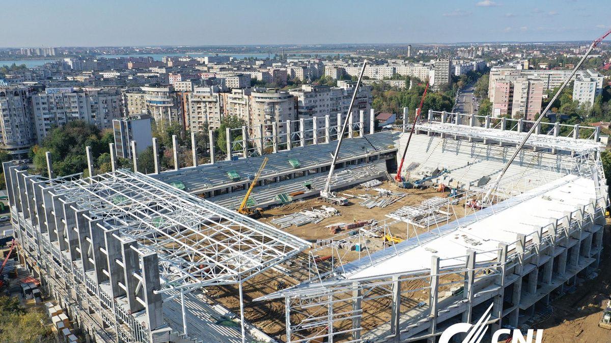 """""""Rapid Arena"""", noul stadion din Giulești (Sursa foto: CNI)"""