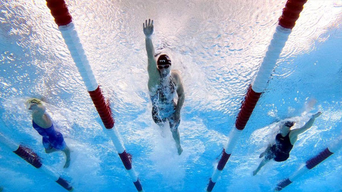 Katie Ledecky lors de la Pro Swim Series à San Antonio le 5 mars 2021