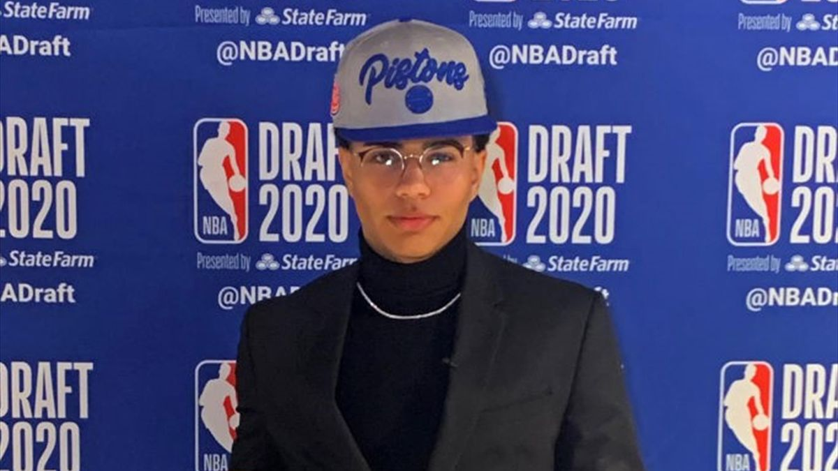 Killian Hayes choisi en 7e position par les Pistons de Detroit lors de la Draft NBA 2020