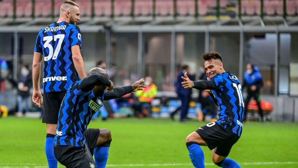 Romelu Lukaku e Lautaro Martinez - Inter-Torino Serie A 2020-21