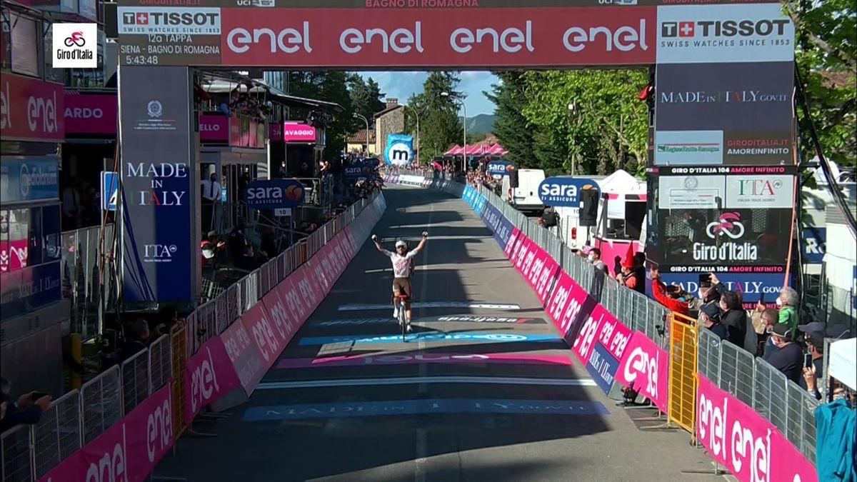 Le meilleur sprinteur du duo l'a emporté : revivez le succès de Vendrame