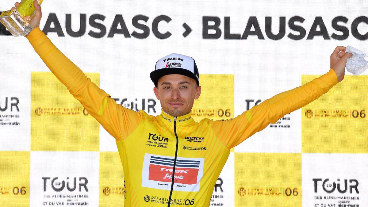Gianluca Brambilla (Trek-Segafredo) hat die Tour des Alpes Maritimes et du Var gewonnen