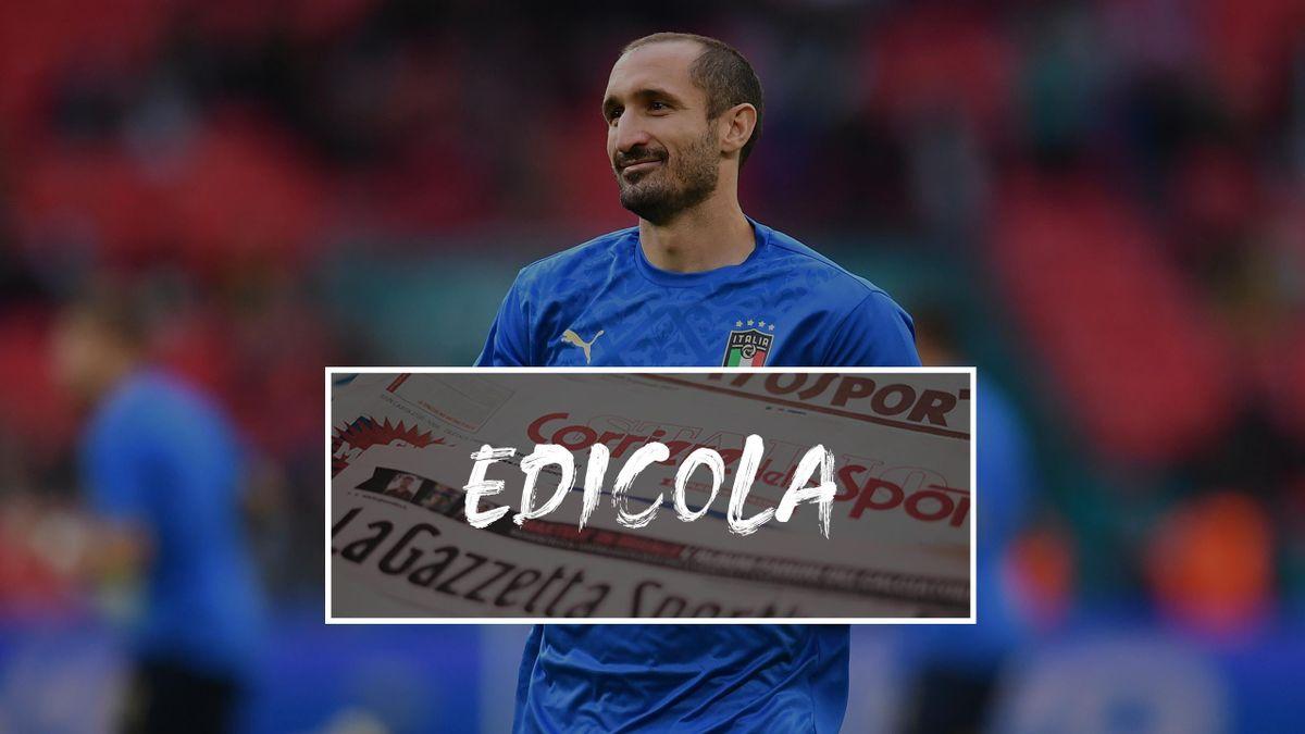 Edicola Giorgio Chiellini