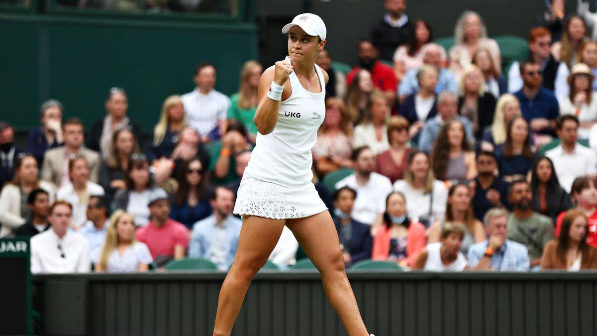 Ashleigh Barty in Wimbledon