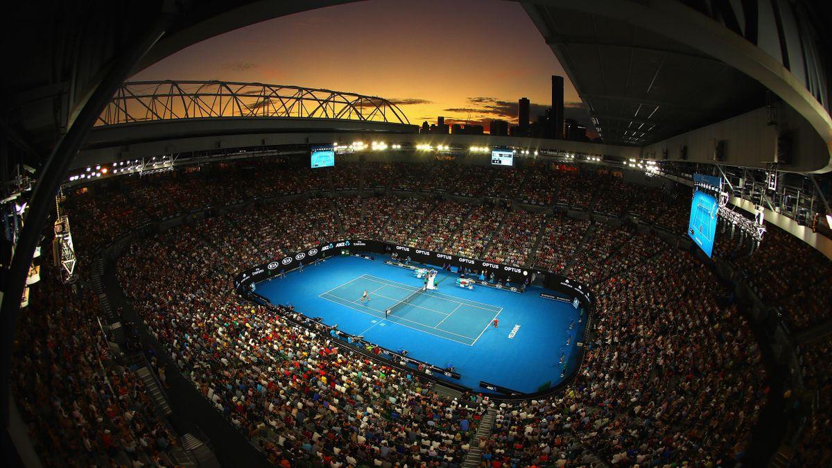 Australian Open, sub un val de caniculă