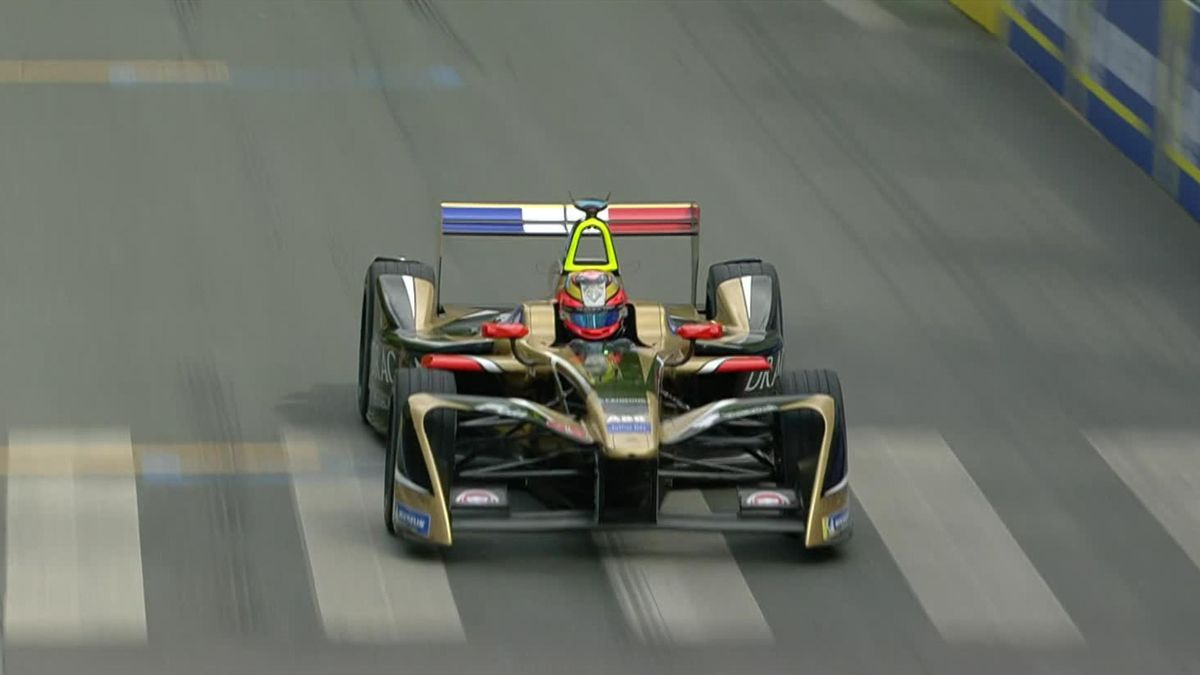 Formula E Paris: Vergne takes pole