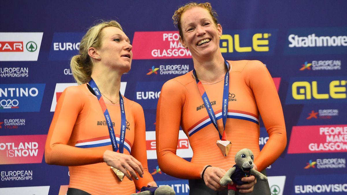 Amy Pieters and Kirsten Wild - EC Glasgow