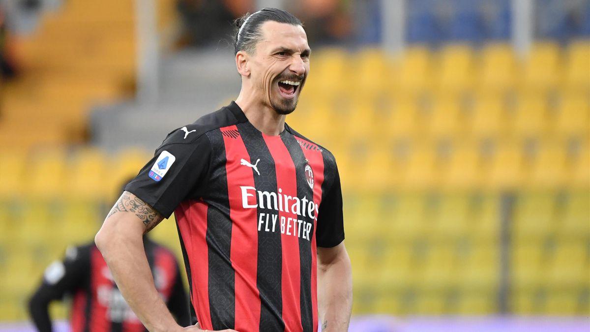 Milan-Star Zlatan Ibrahimovic wurde für ein Spiel gesperrt