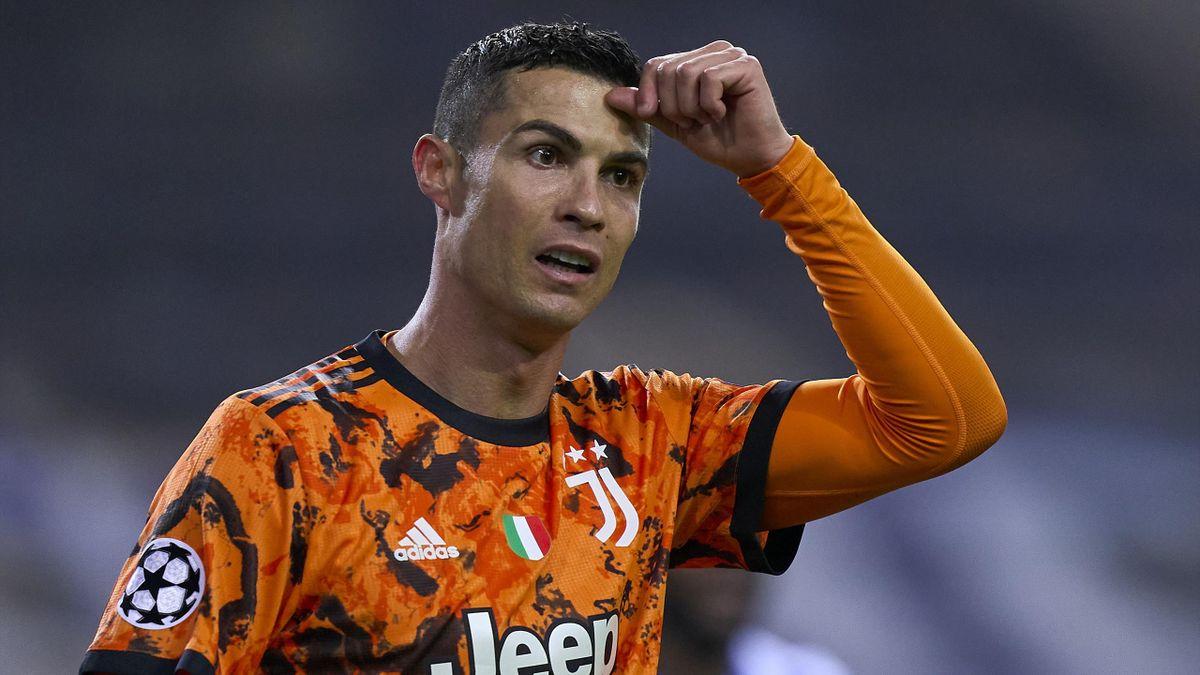 Cristiano Ronaldo hat mit Juventus Turin das Achtefinal-Hinspiel in der Champions League beim FC Porto verloren