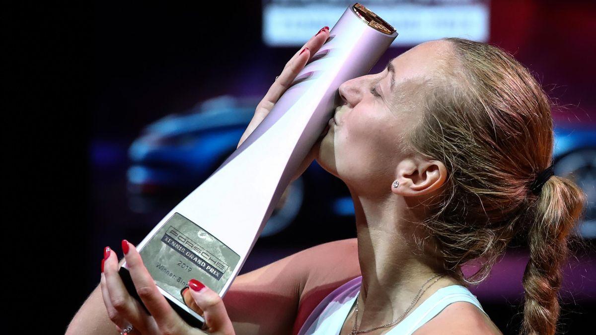 Petra Kvitova à Stuttgart en 2019