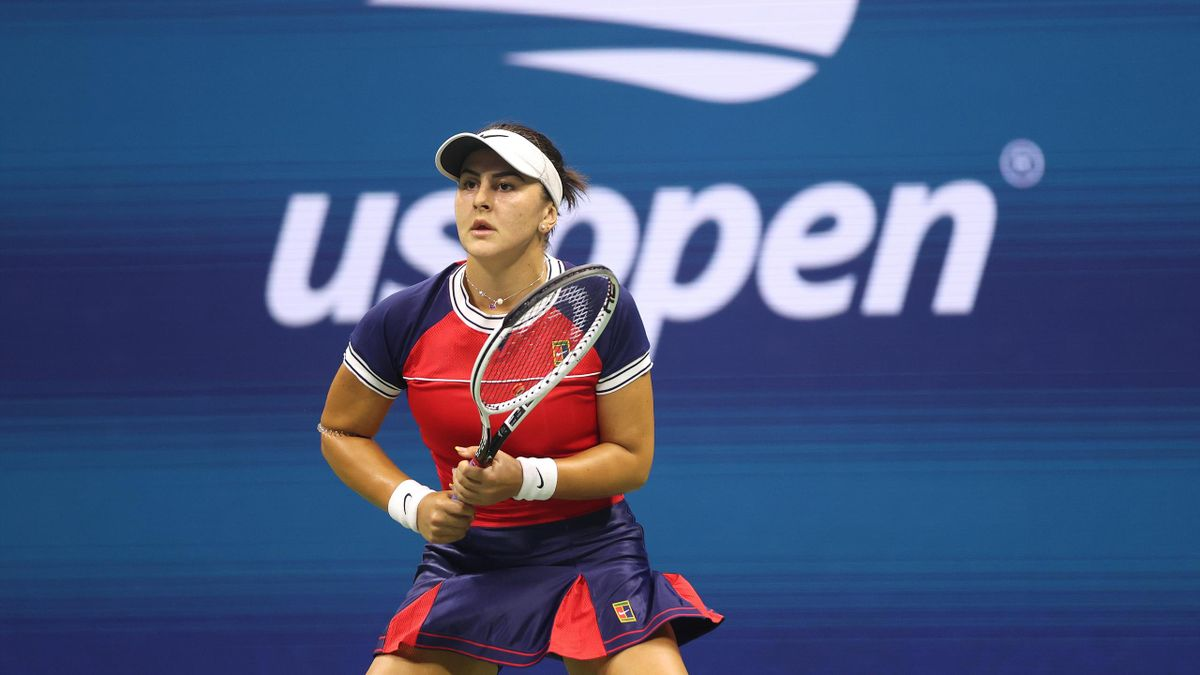 Bianca Andreescu la US Open