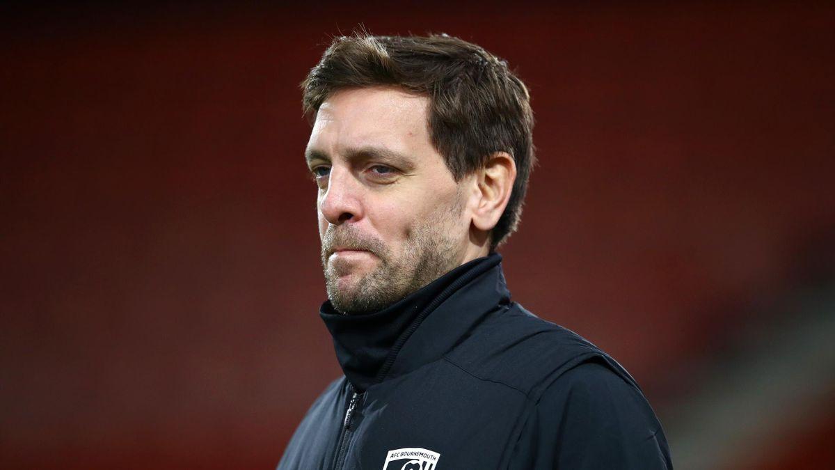 Bournemouth head coach Jonathan Woodgate