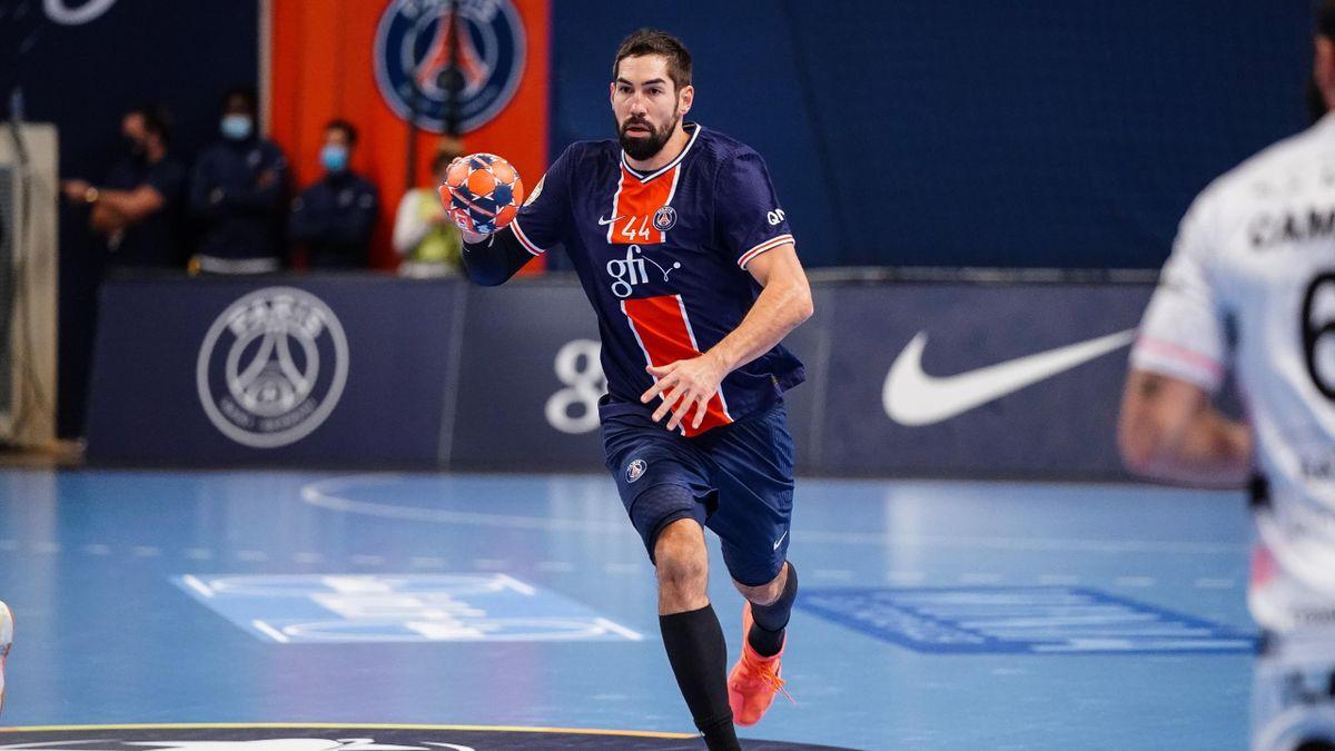 Nikola Karabatic avec le PSG handball