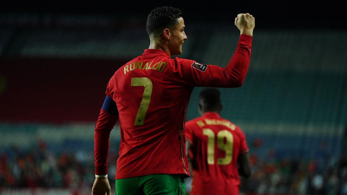 Cristiano Ronaldo scored thrice as Portugal routed Luxembourg in their World Cup qualifier