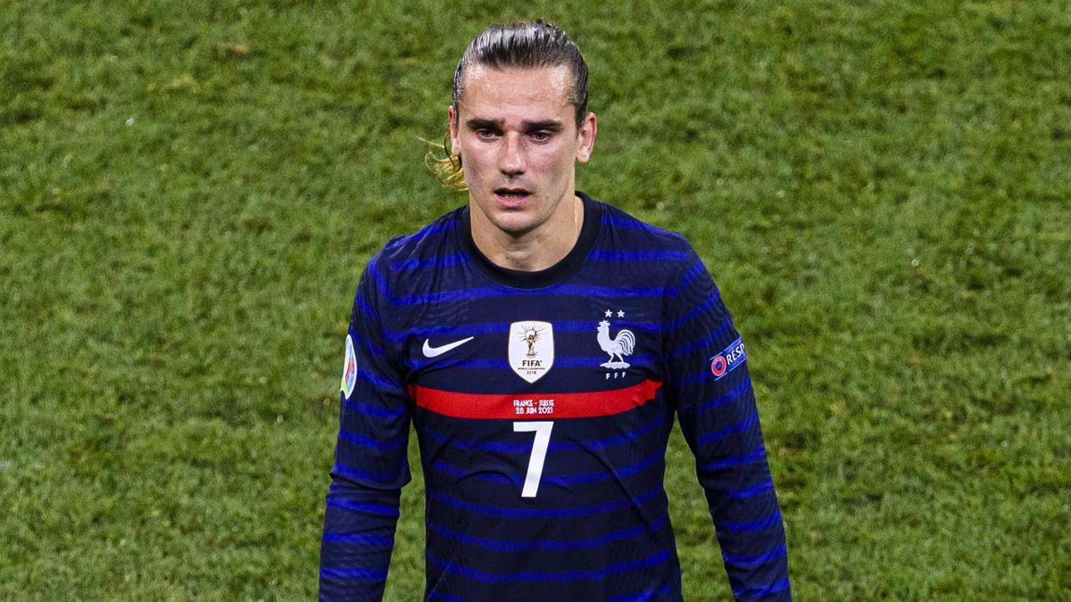 Antoine Griezmann, Francia-Svizzera, Euro 2020 (Getty Images)