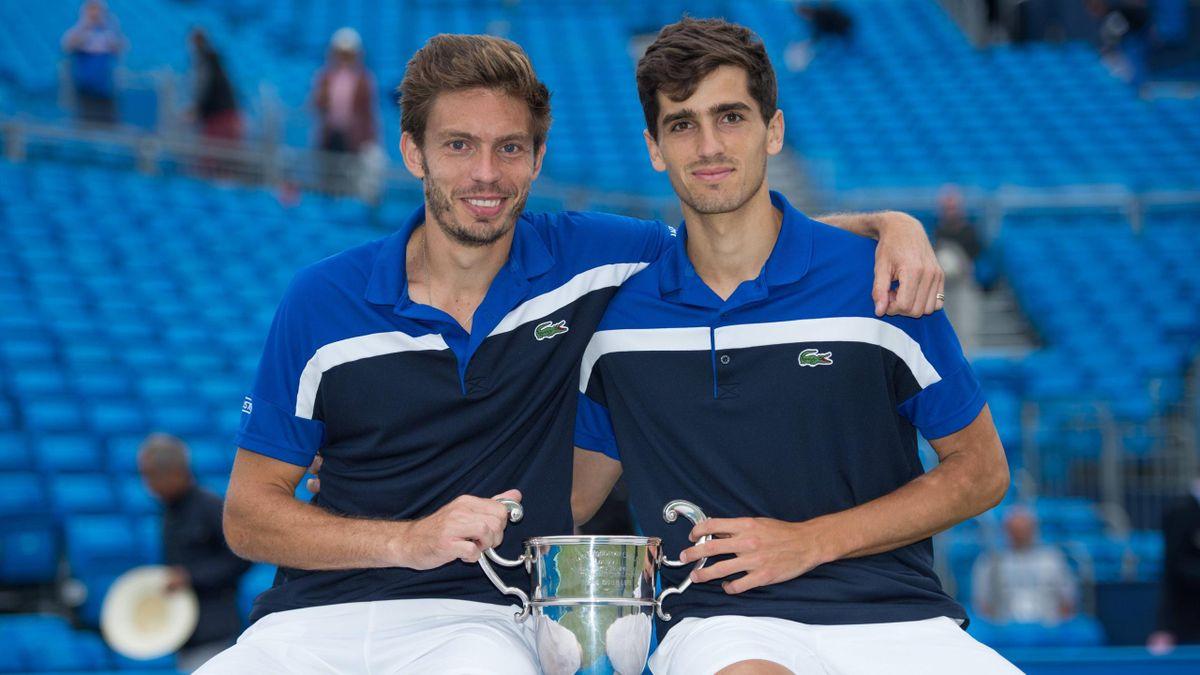Nicolas Mahut et Pierre-Hugues Herbert, vainqueur au tournoi du Queen's en 2016
