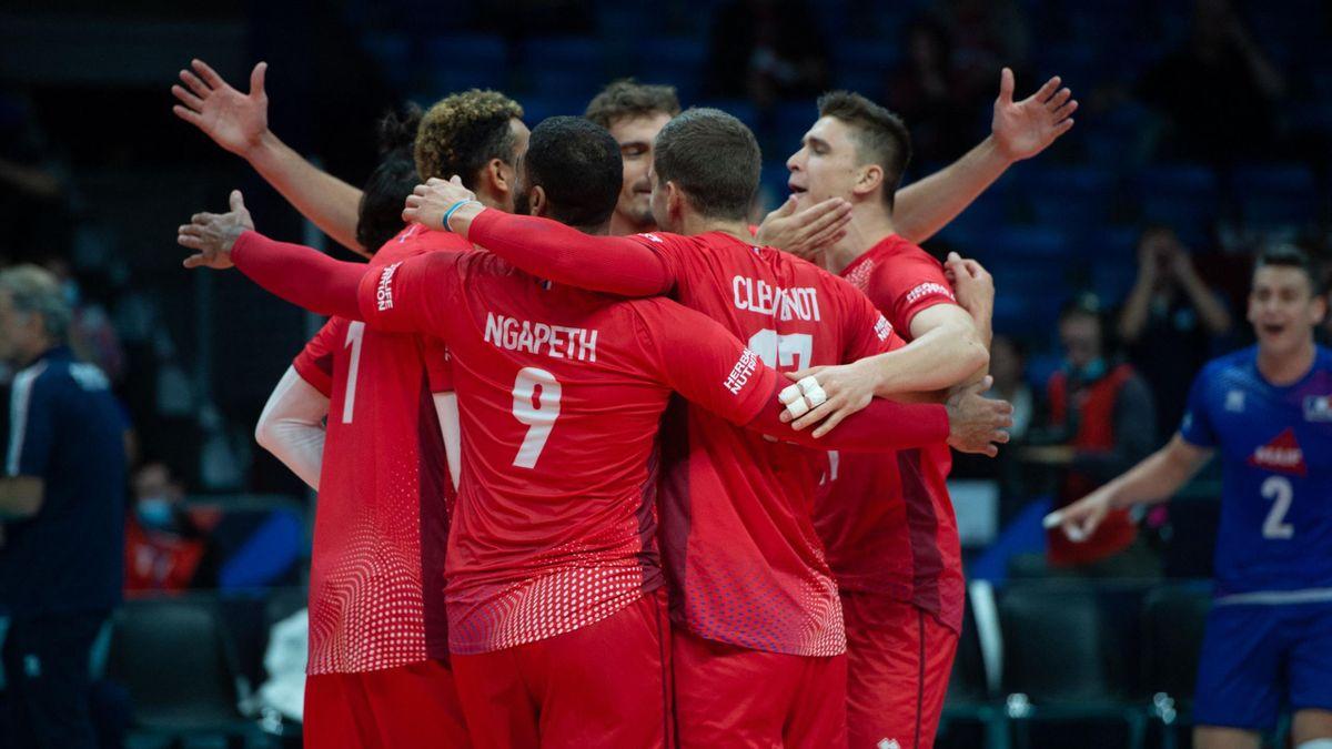L'équipe de France de volley à l'Euro  2021