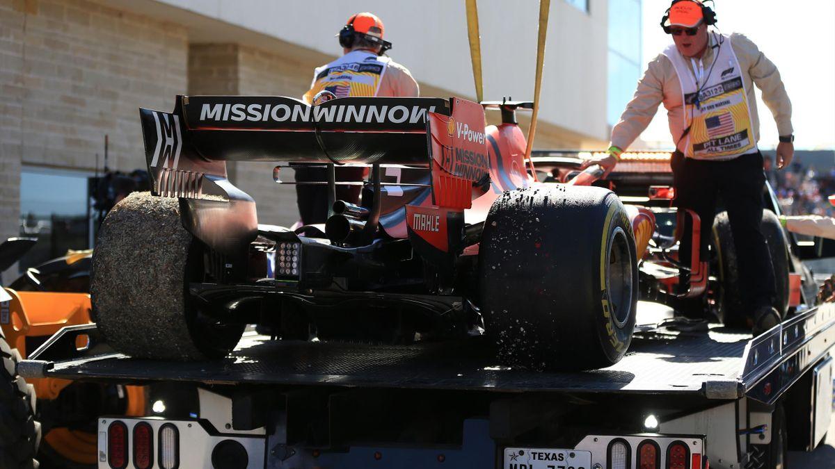 Frühes Aus von Sebastian Vettel in Austin