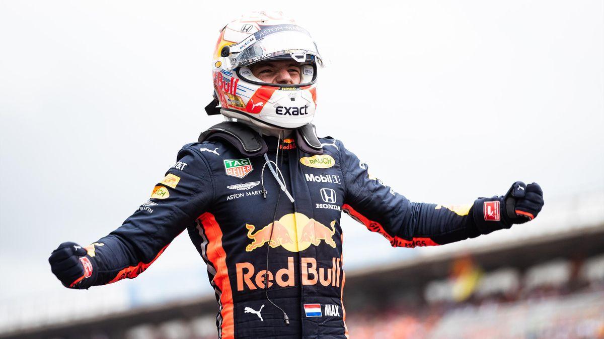 Max Verstappen (Red Bull) vainqueur du GP d'Allemagne 2019.