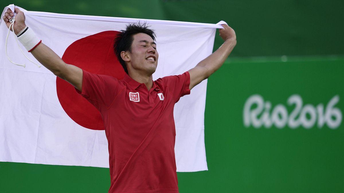 Kei Nishikori - JO Rio 2016