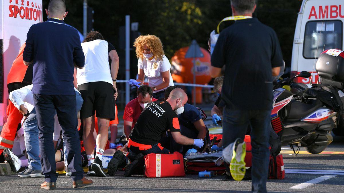 Fabio Jakobsen suffers 'hellish' crash at the Tour of Poland