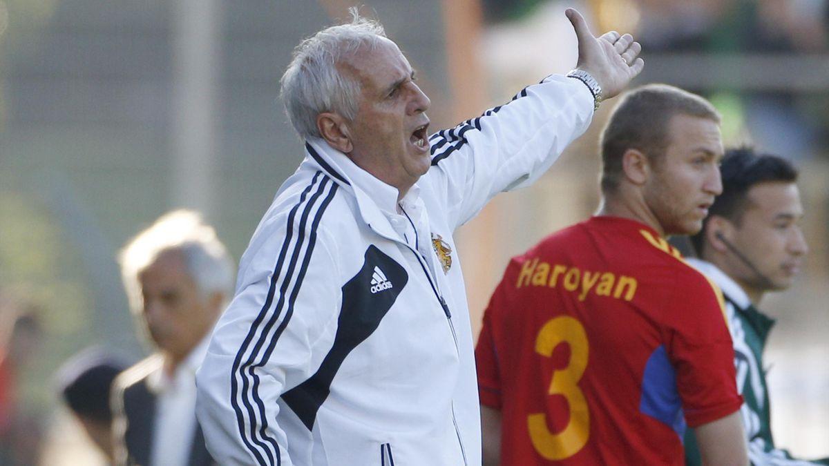 Le sélectionneur de l'Arménie Bernard Challandes ne serait bien passé d'affronter la France