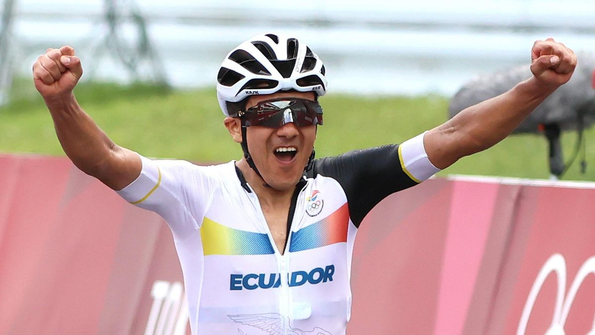 Richard Carapaz a réalisé son rêve : être champion olympique !